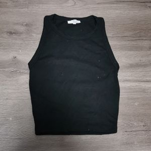 Wilfred black tank top